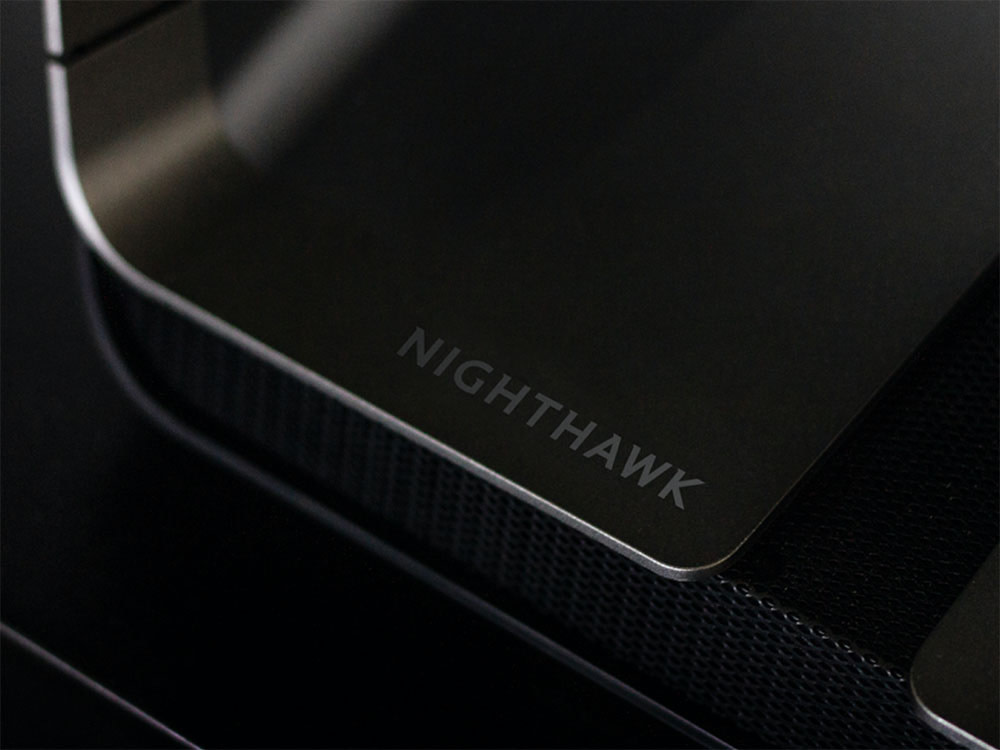3D render of Nighthawk router