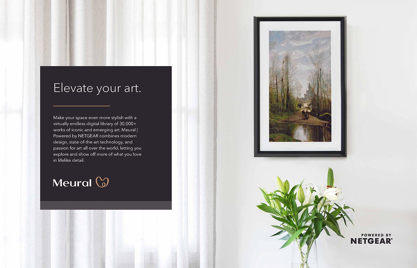 Photo of Meural digital art frame